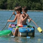 Watervertier camping Les Rives du Lac