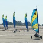 Camping des Chevrets strandzeilen bij Hirel