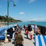 Cancale beroemde oestermarkt, vers uit zee -Camping des Chevrets