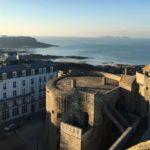 kasteel van Saint-Malo dichtbij camping des Chevrets