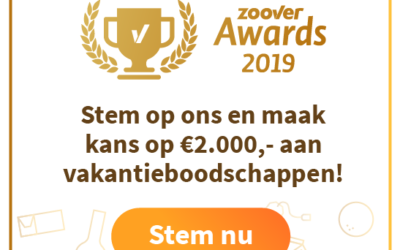 Genomineerd Zoover Awards
