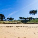 Camping des Chevrets vanaf het strand