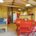 Lodge tente Interieur Domaine de la Franqui