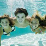 Zwemvertier bij Domaine de la Franqui