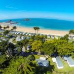 camping des Chevrets direct aan het strand