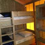 Etagenbett in Safarizelt 6 Personen