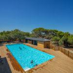 Domaine de la Franqui - zwembad