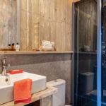 Domaine du Verdon Safarizelt 4 Personen Badezimmer