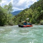 Domaine du Verdon, Kajak fahren auf dem Fluss