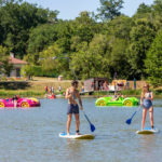 Les Alicourts SUP (Stand Up Paddle) en waterfietsen