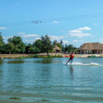 Les Alicourts waterski