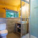 Tenuta Regina Lodge tent badkamer