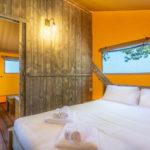 Tenuta Regina Lodge tent 2 persoons slaapkamer