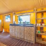 Tenuta Regina Lodge tent keuken