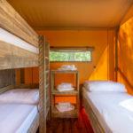 Tenuta Regina Lodge tent 3 persoons slaapkamer