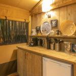 Les 3 Cantons gedeelte van de keuken