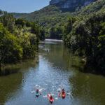 Les 3 Cantons kano varen in de buurt
