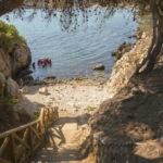 Punta Milà strandje in de omgeving