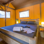 Punta Milà safaritent 2 persoons slaapkamer