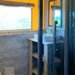 L'Antica Fornace badkamer van safaritent