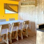 L'Antica Fornace eettafel in de woonkamer