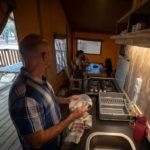 Le Bellevue keuken en eettafel