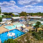 La Bretonnière - luchtfoto van zwembaden
