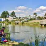 La Bretonnière - vissen in het meer