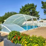 La Bretonnière - één van de zwembaden