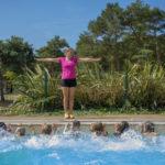 La Bretonnière - Animatie in het zwembad