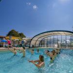 La Bretonnière - Aquagym in het zwembad