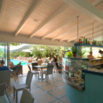 Bar bij zwembad Delle Rose