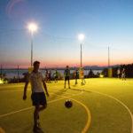 Verlicht multi sportveld