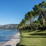Aan het Gardameer vanaf camping La Rocca