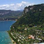 La Rocca- luchtfoto van camping en omgeving