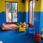 La Rocca- binnen speelruimte voor de kleintjes