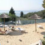 La Rocca- Strand op de camping