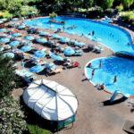 Zwembaden vanuit de lucht camping San Marino