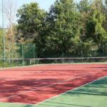 Tennisbaan op camping San Marino