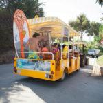 Cala Gogo- Treintje naar strand