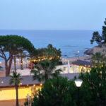Cala Gogo- Bar met ligbedden bij strand