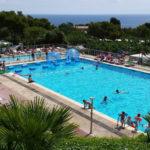 Cala Gogo- zwembaden met uitzicht op de zee