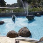 Cala Gogo- peuterzwembad met glijbaan en 'wilde' dieren