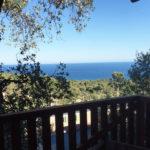 uitzicht vanaf het terras van de Lodgetent