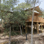 Lodge tent op Cala Gogo