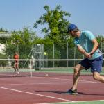 Tennissen op Camping Le Col Vert