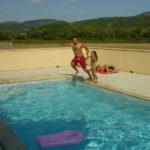 Zwembad op Camping de Coucouzac in de Ardeche
