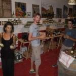 Winkel op Camping de Coucouzac met specialiteiten uit de regio