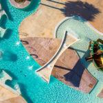 Cypsela Resort aquapark vanuit de lucht