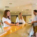Cypsela Resort Empfang